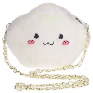 Plush Whimsy Cloud Crossbody Bag